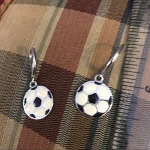 🇺🇸3 for $10🗽 Soccer enamel on French wires